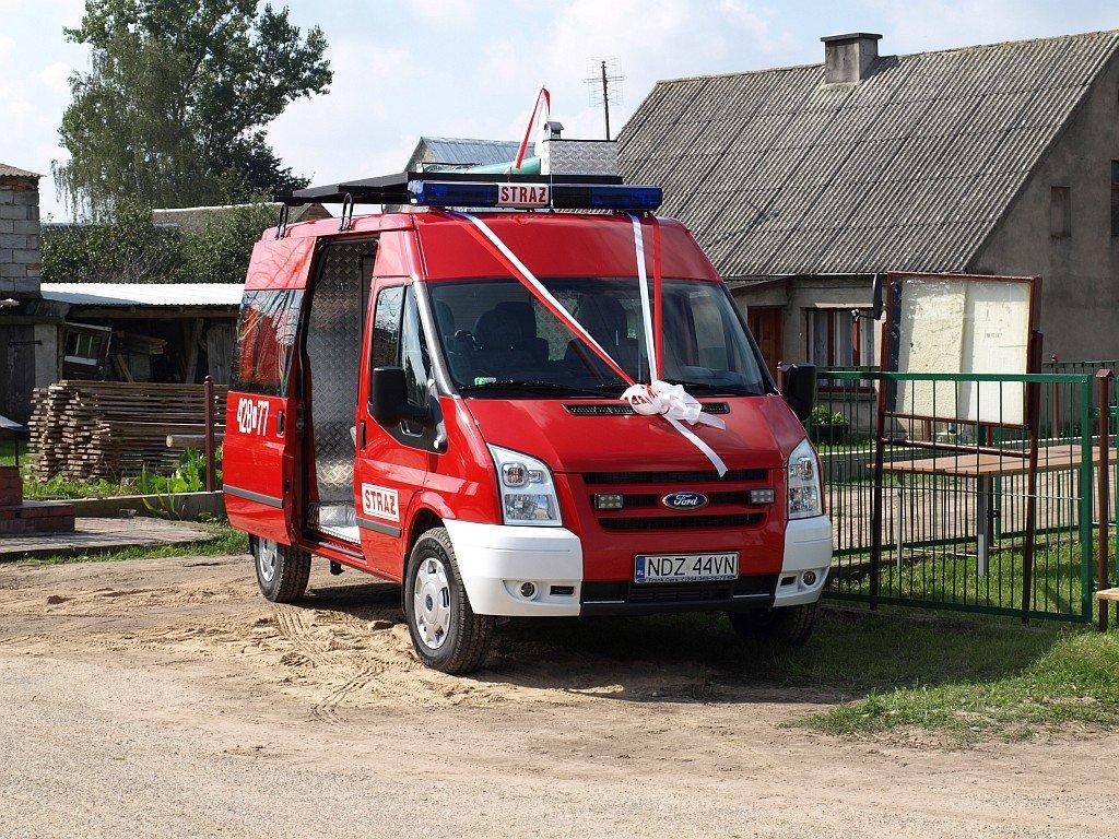 Zakup samochodu dla OSP w Truszczynach