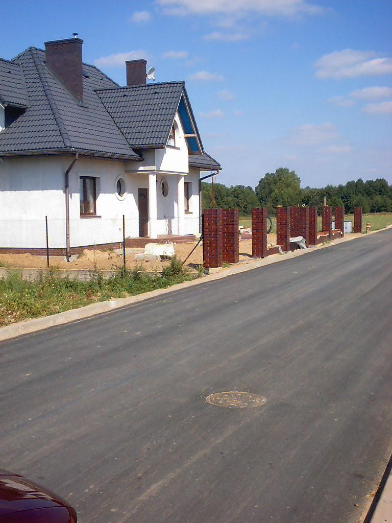 Przebudowa dróg gminnych - ulice w Rybnie cz. I i II oraz rozbudowa kanalizacji sanitarnej w drodze