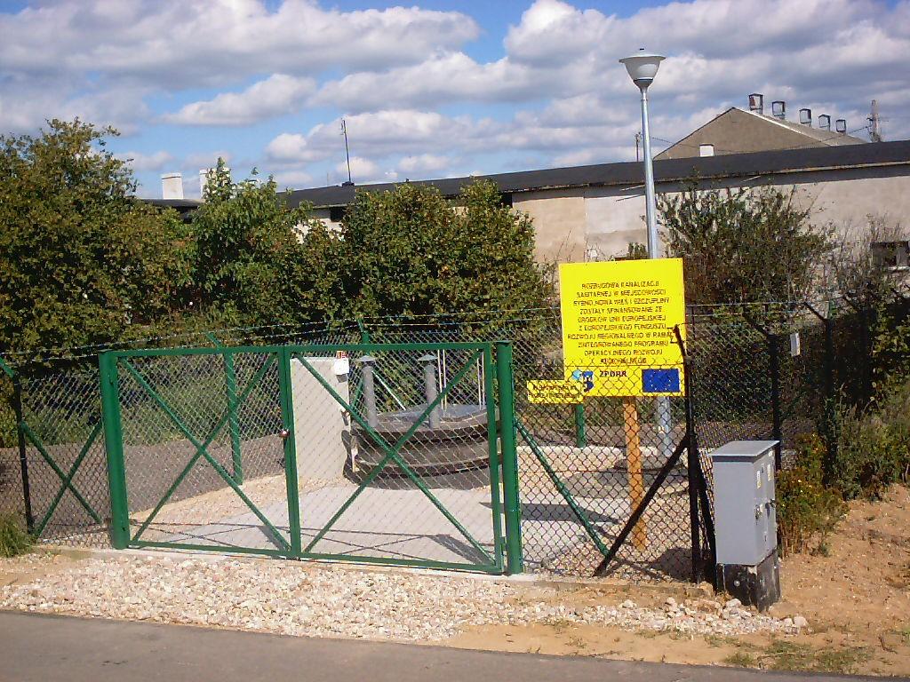 Rozbudowa kanalizacji sanitarnej w miejscowości Rybno, Nowa Wieś i Szczupliny