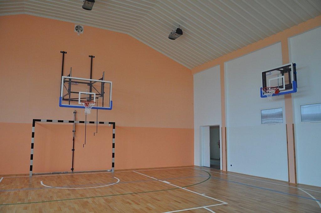 Sala sportowa po odbiorze technicznym