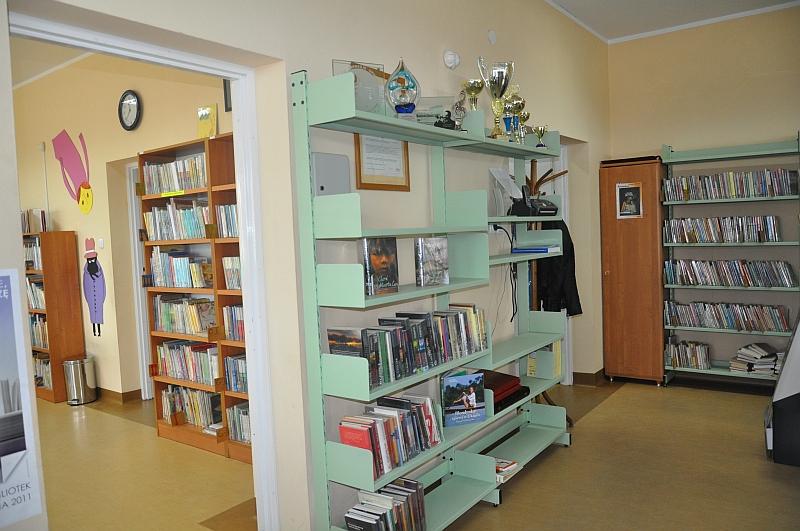 Biblioteka doposażona