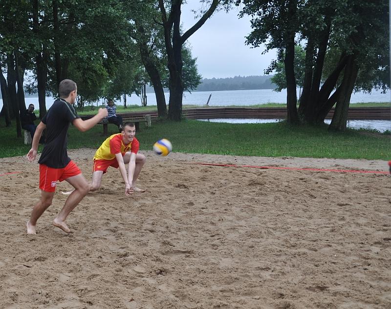 Turniej siatkówki plażowej - wyniki