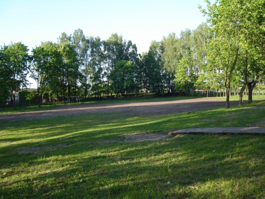Budowa boiska w Koszelewach