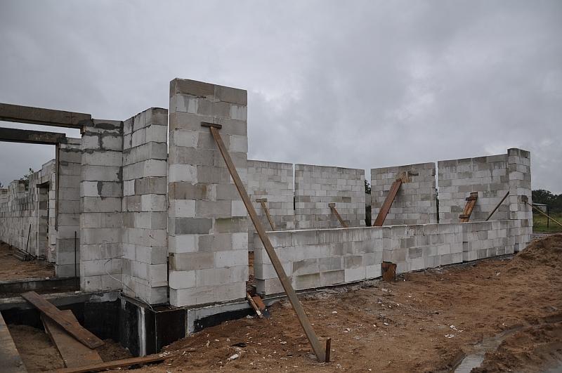 Budowa sali sportowej w Rybnie