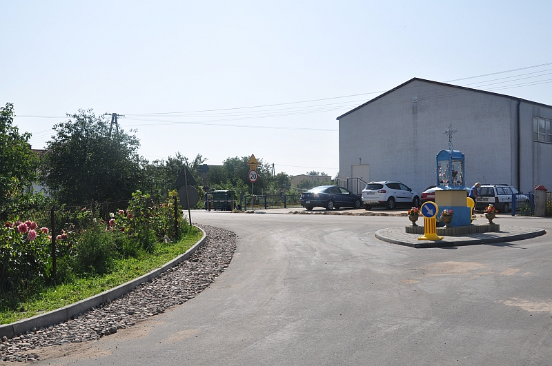 Przebudowa dróg w Żabinach