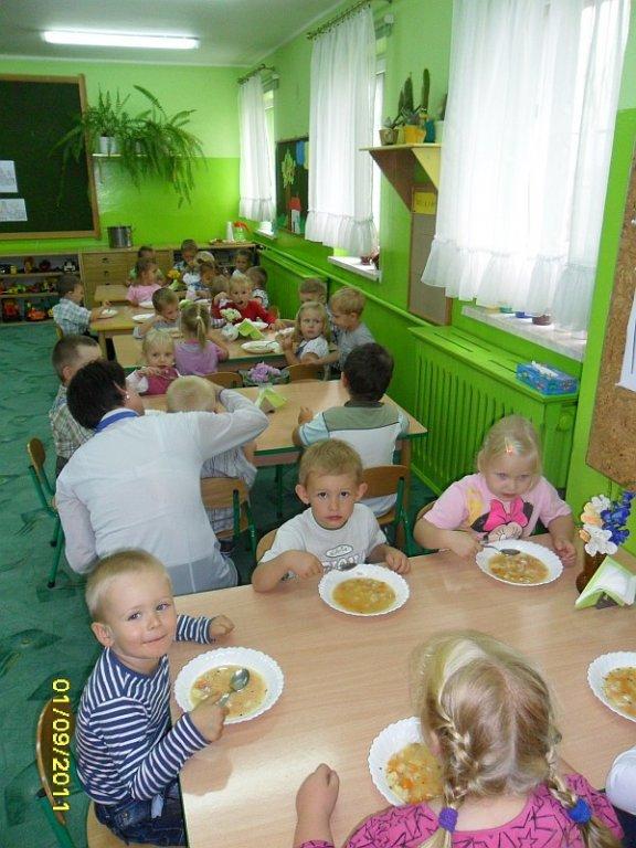 Pierwszy dzień w przedszkolu w Rybnie