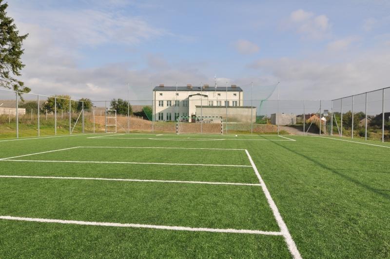 Nowe boisko w Żabinach