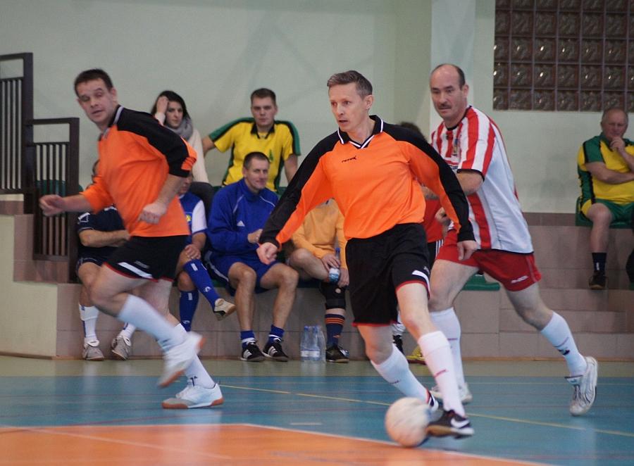 Halowy turniej piłkarski