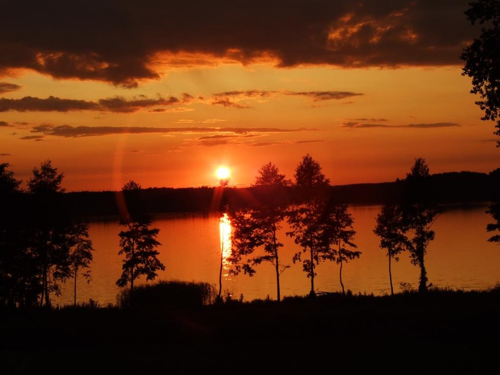 Agroturystyka nad jeziorem Rumian