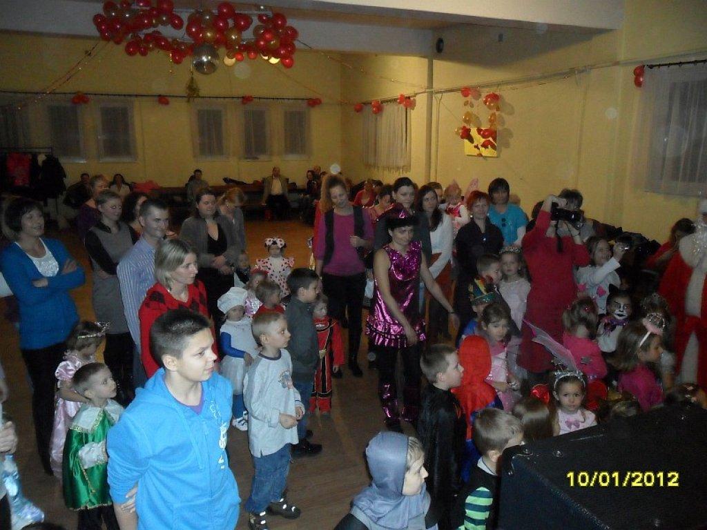 Mikołaj i krasnal Hałabała w Przedszkolu