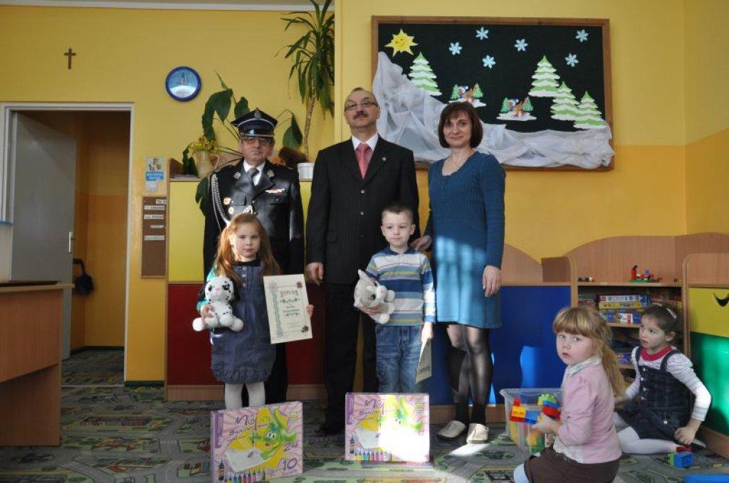 Przedszkolaki wyróżnione w konkursie plastycznym