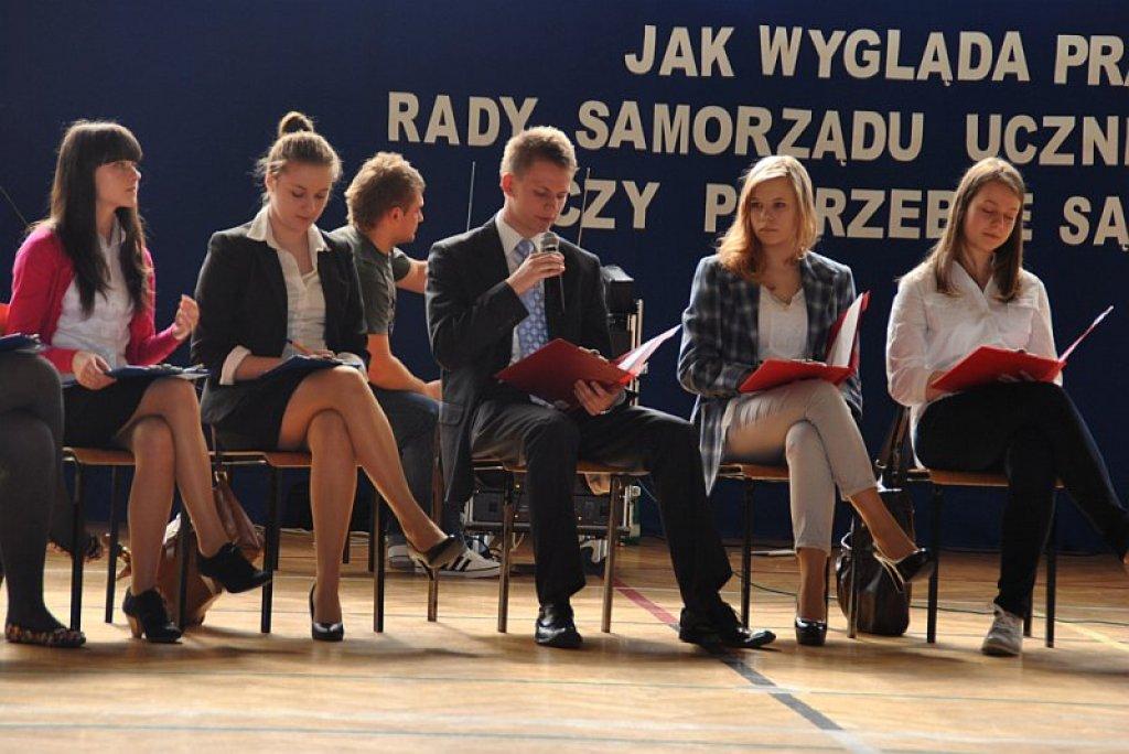 Debata w Zespole Szkół