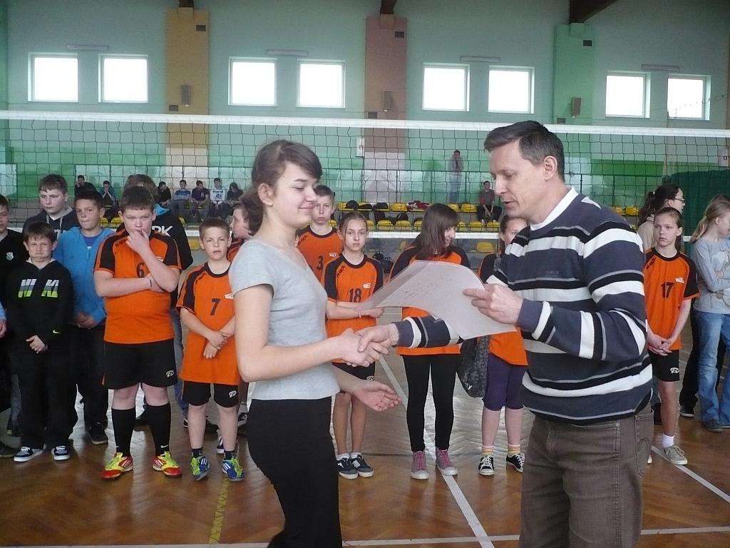 Turniej piłki siatkowej Szkół Podstawowych