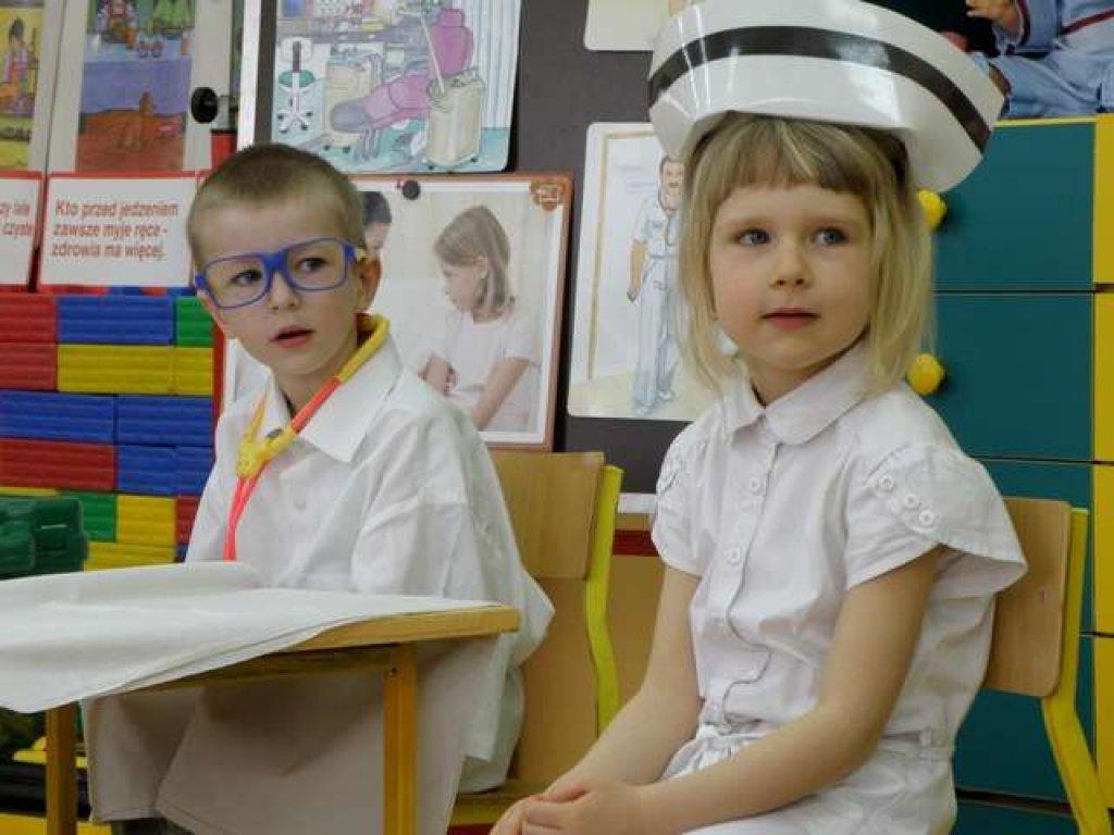 Przedszkolaki promują zdrowie