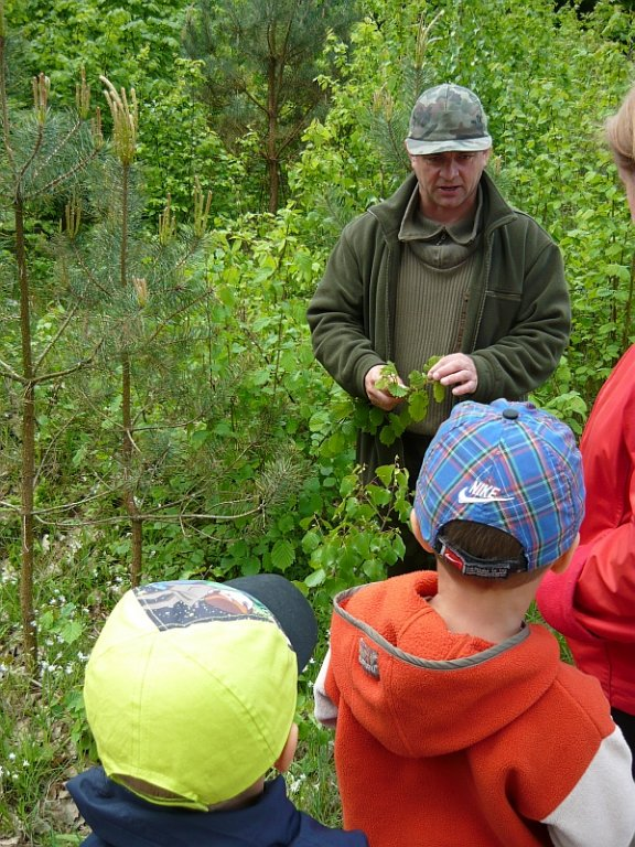 Wycieczka przedszkolaków do lasu - 14 maja 2012