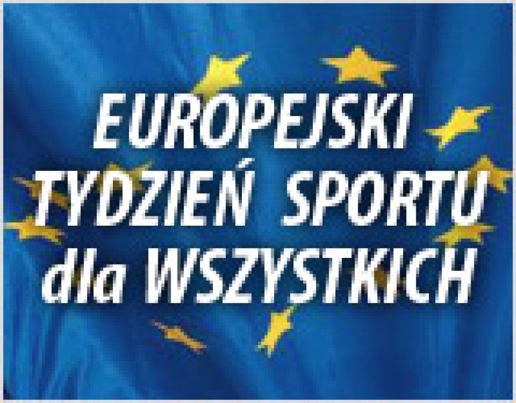 Europejski Tydzień Sportu - kalendarz imprez