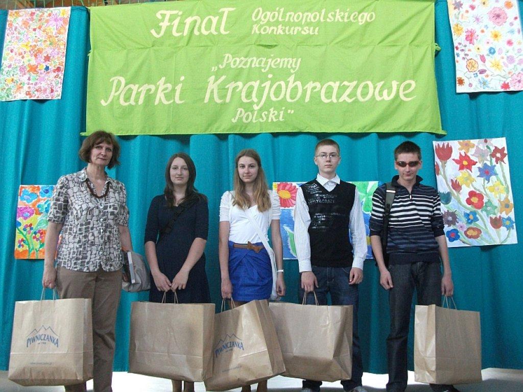 Finał Konkursu 'Poznajemy Parki Krajobrazowe Polski'
