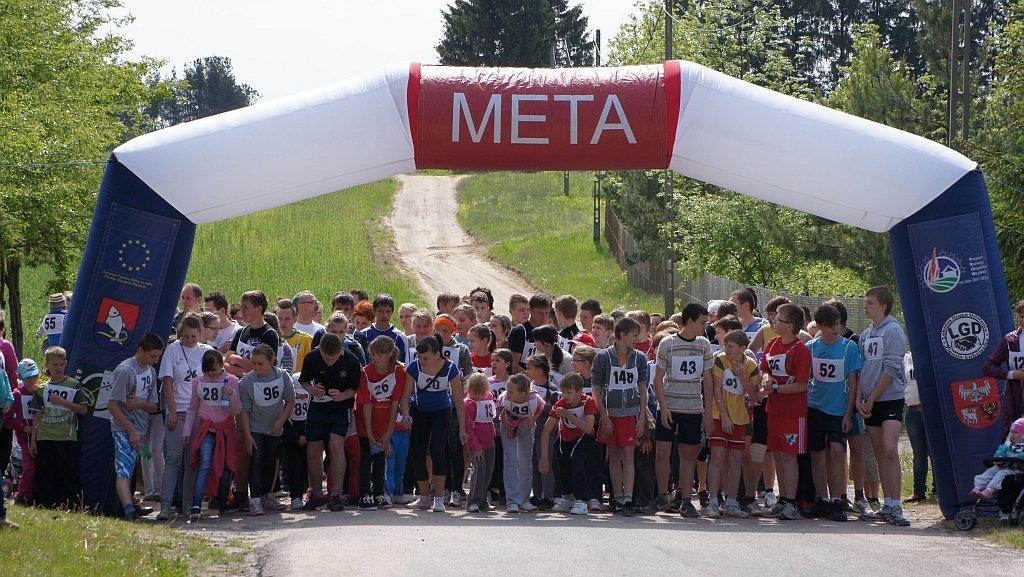 Mieszkańcy Gminy Rybno pobiegli razem z całą Polską