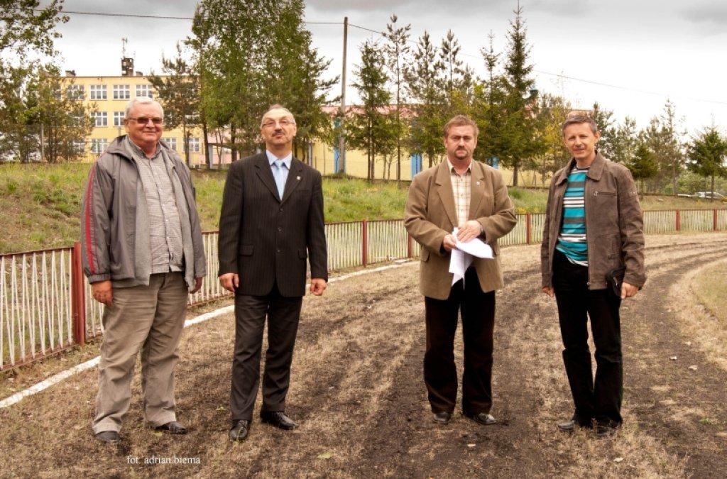 Przebudowa stadionu sportowego