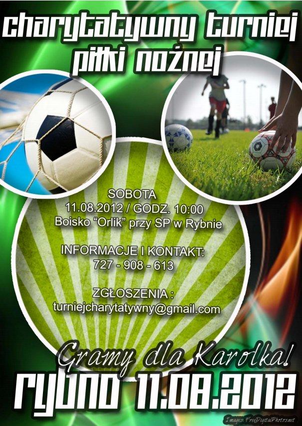 Charytatywny turniej piłki nożnej