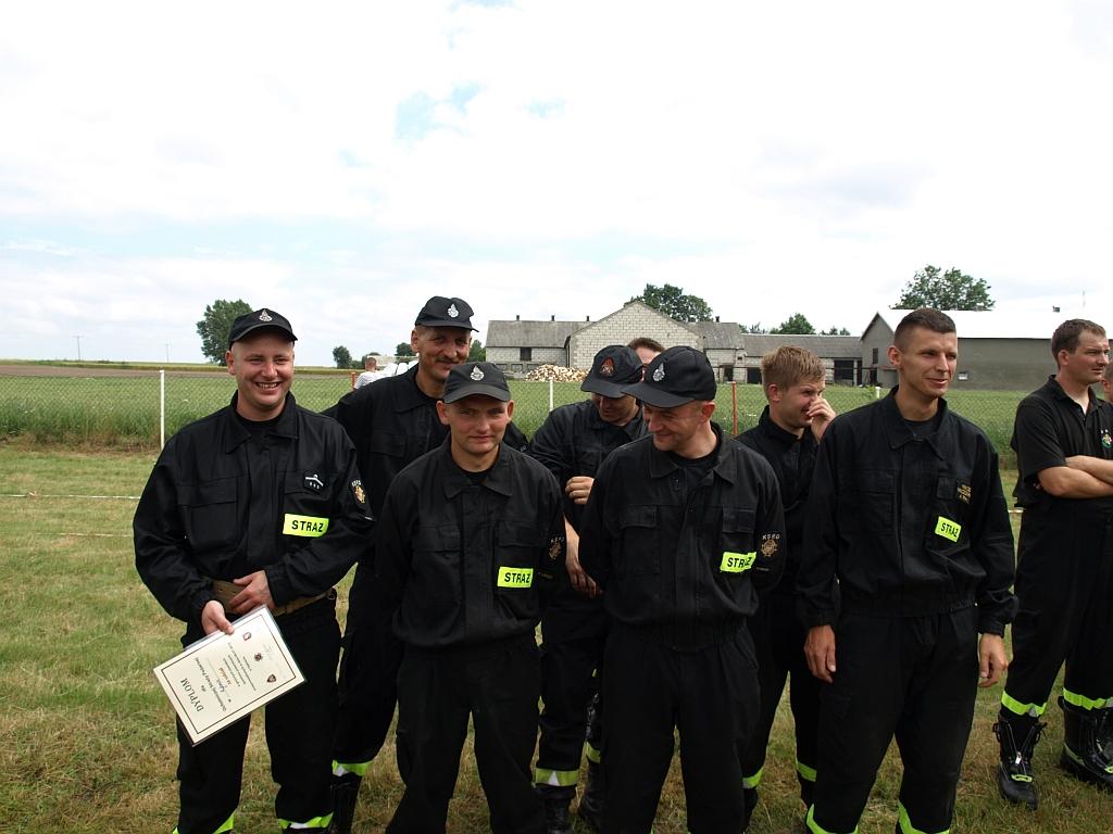 Gminne Zawody Sportowo - Pożarnicze 2012