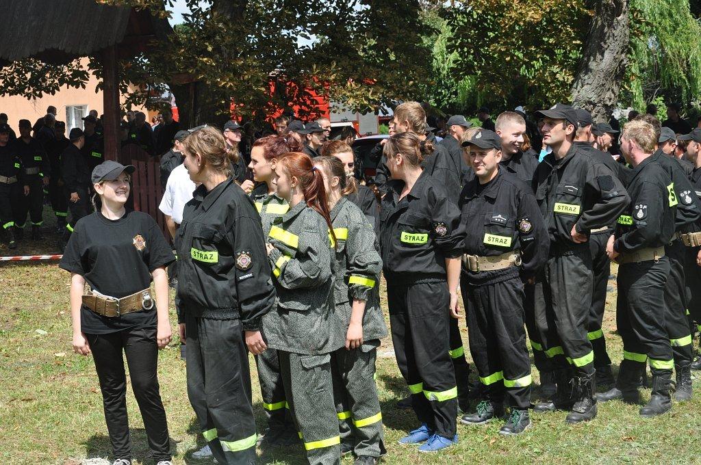 Gminne Zawody Sportowo - Pożarnicze 2013