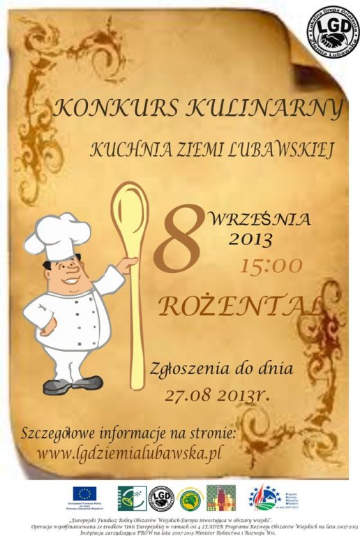 Konkurs kulinarny 'Kuchnia Ziemi Lubawskiej'