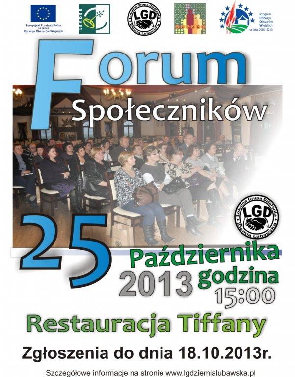 Forum Społeczników 2013