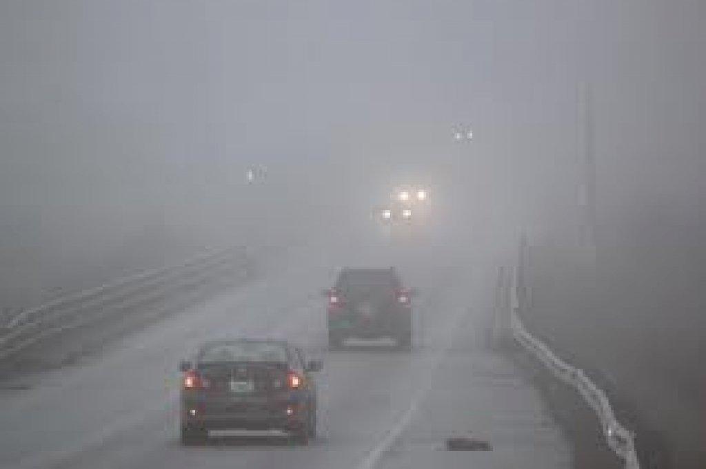 Ostrzeżenie meteorologiczne - silna mgła