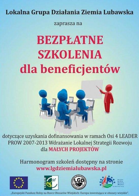 Szkolenia dla beneficjentów PROW