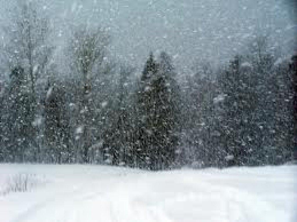 Ostrzeżenie meteorologiczne - Intensywne opady śniegu