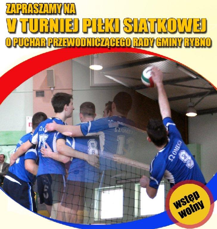 V Turniej Piłki Siatkowej o Puchar Przewodniczącego Rady Gminy Rybno