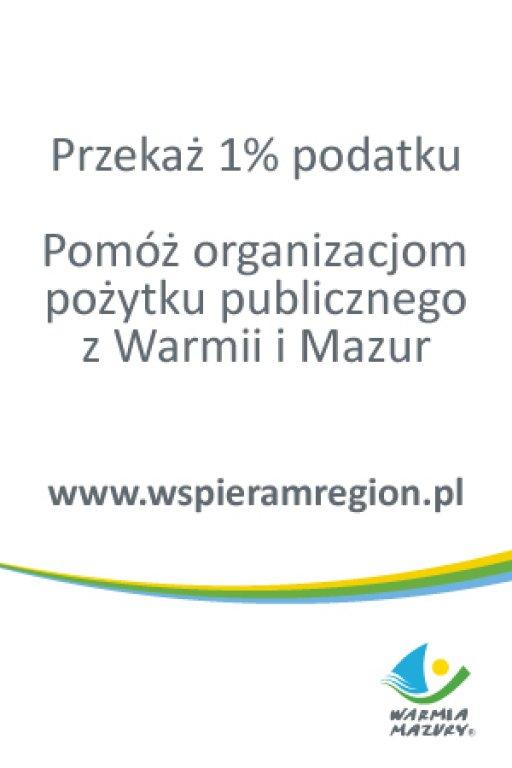 1% zostawmy na Warmii i Mazurach