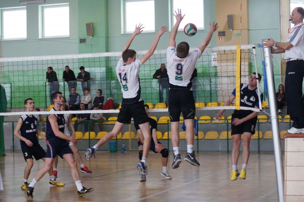 Siatkarze z Gminy Rybno w półfinale