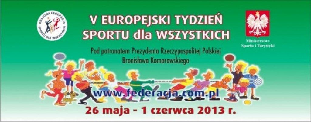Sprawozdanie - V Europejski Tydzień Sportu