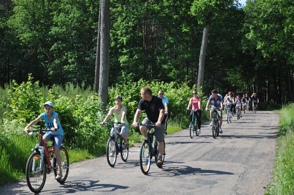 Otwarcie ścieżki rowerowej