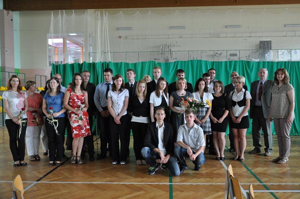 Pierwsi absolwenci w historii szkoły