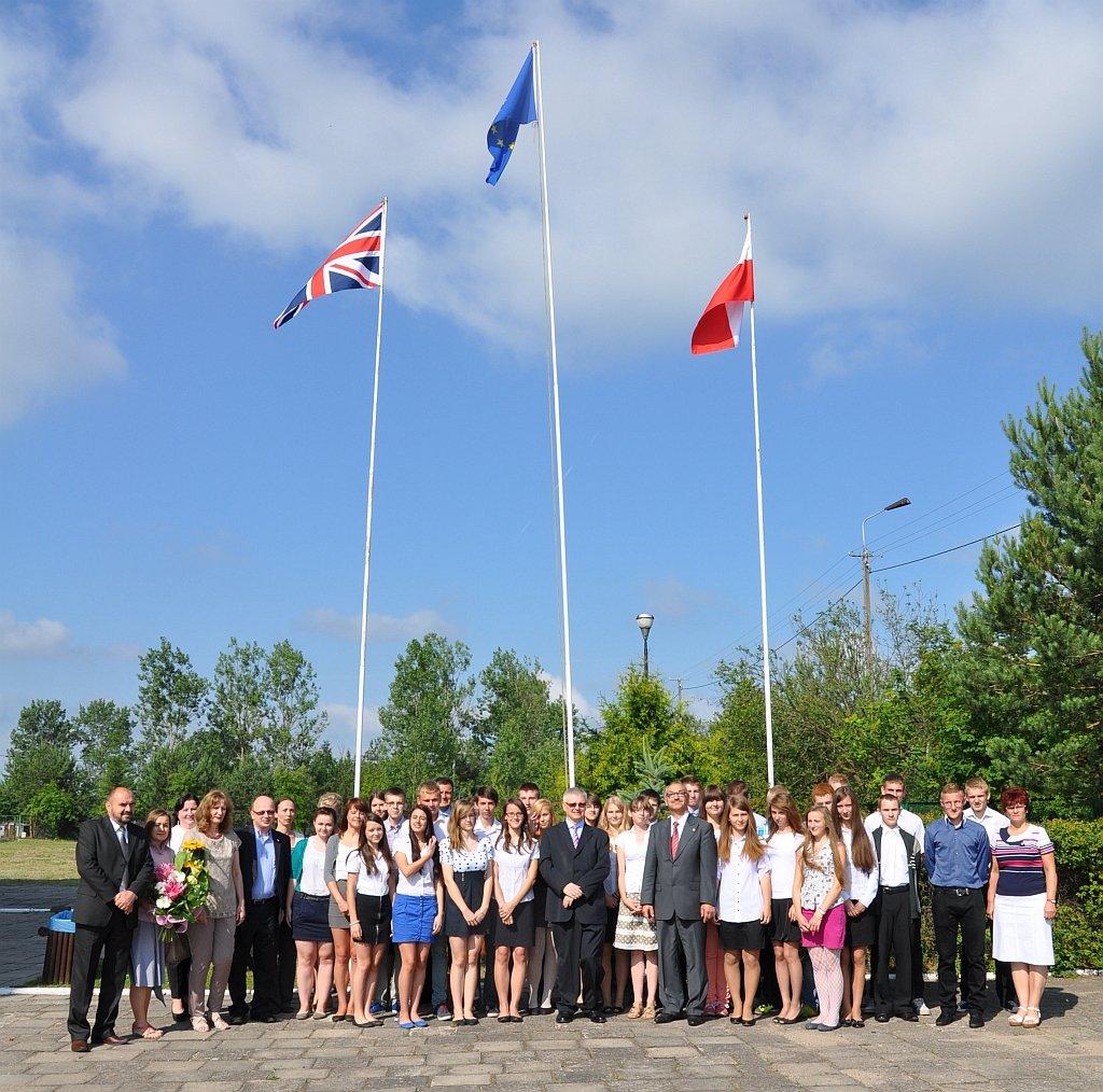 Ambasador Wielkiej Brytanii z wizytą w Gminie Rybno