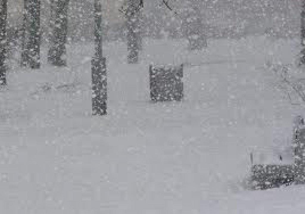 Ostrzeżenie meteorologiczne - zawieje/zamiecie śnieżne