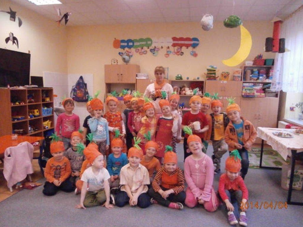 Marchewkowe święto w przedszkolu