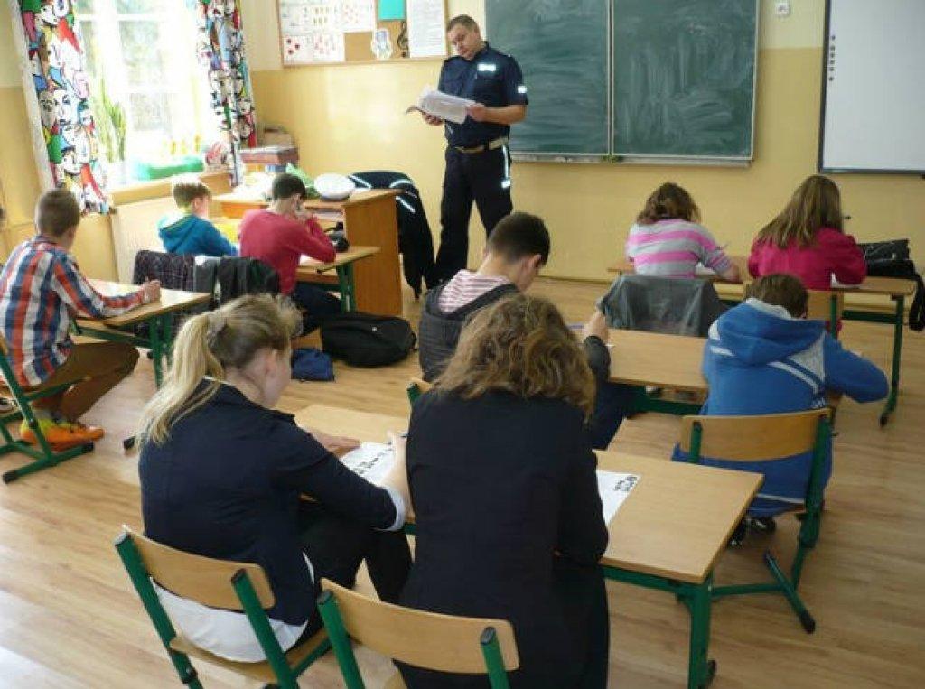 Eliminacje gminne Ogólnopolskiego Turnieju Bezpieczeństwa Ruchu Drogowego