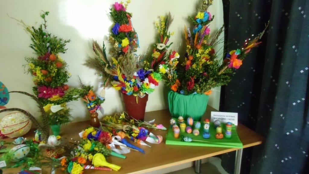 Wystawa palm i pisanek