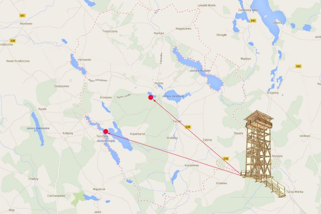 W gminie Rybno mają powstać wieże obserwacyjne