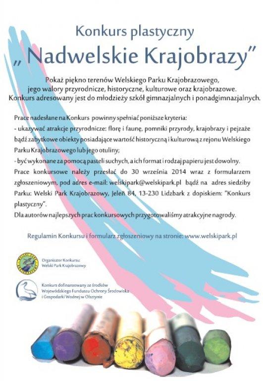 'Nadwelskie krajobrazy' - konkurs plastyczny