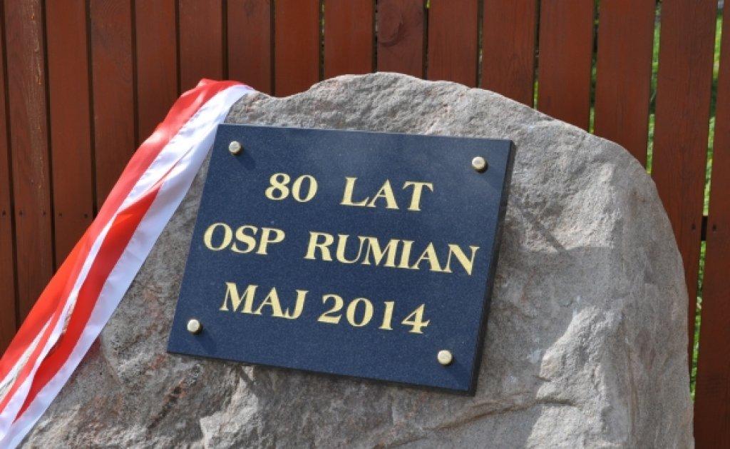 OSP Rumian ma 80 lat