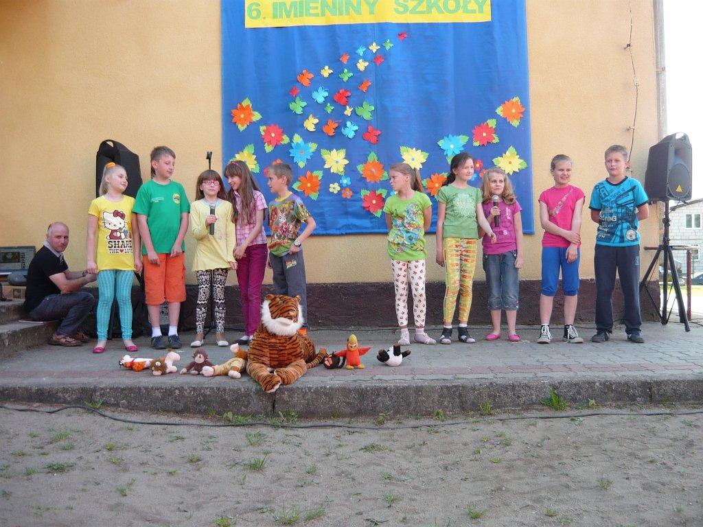 Imieniny szkoły i festyn