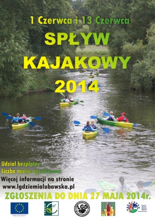 Spływ kajakowy z LGD Ziemia Lubawska