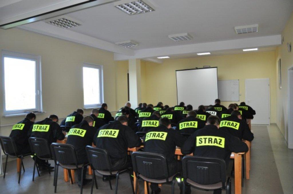 Rekrutacja strażaków do projektu szkoleniowego