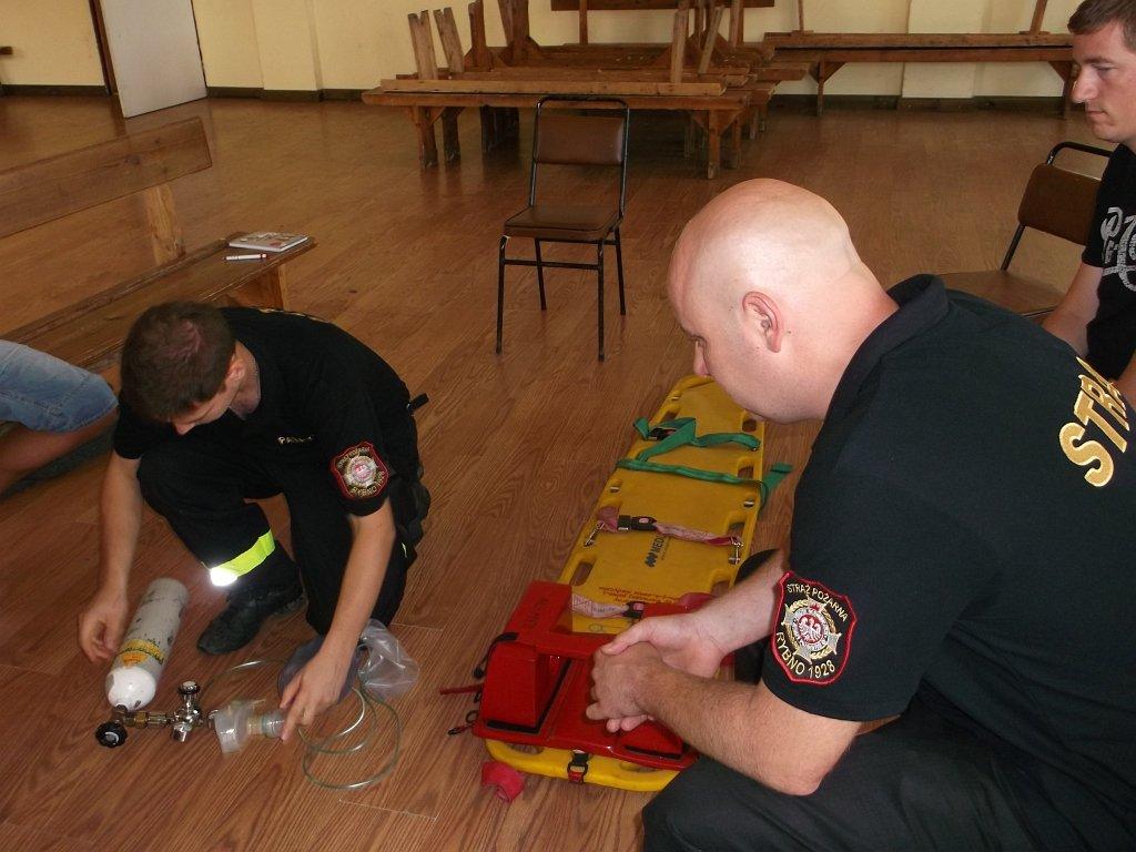 Strażacy się szkolą