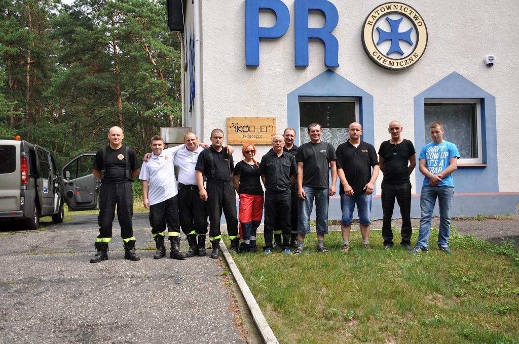 Ratownicy z OSP doskonalą swoje umiejętności